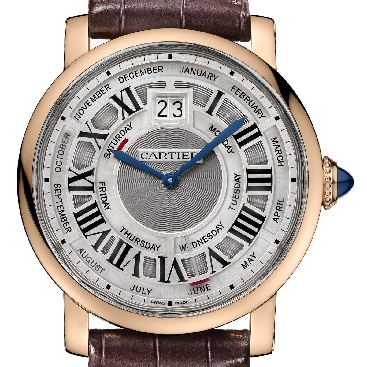 The Watch Quote: Photo - Rotonde de Cartier Quantième Annuel