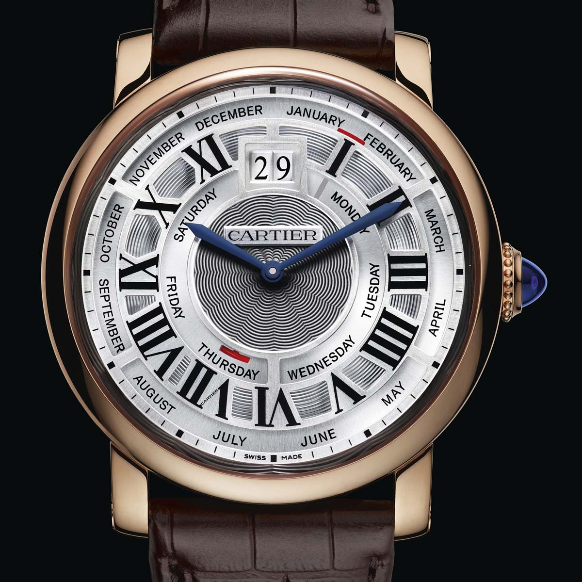 cartier rose gold watches for men with images 183 orawan45