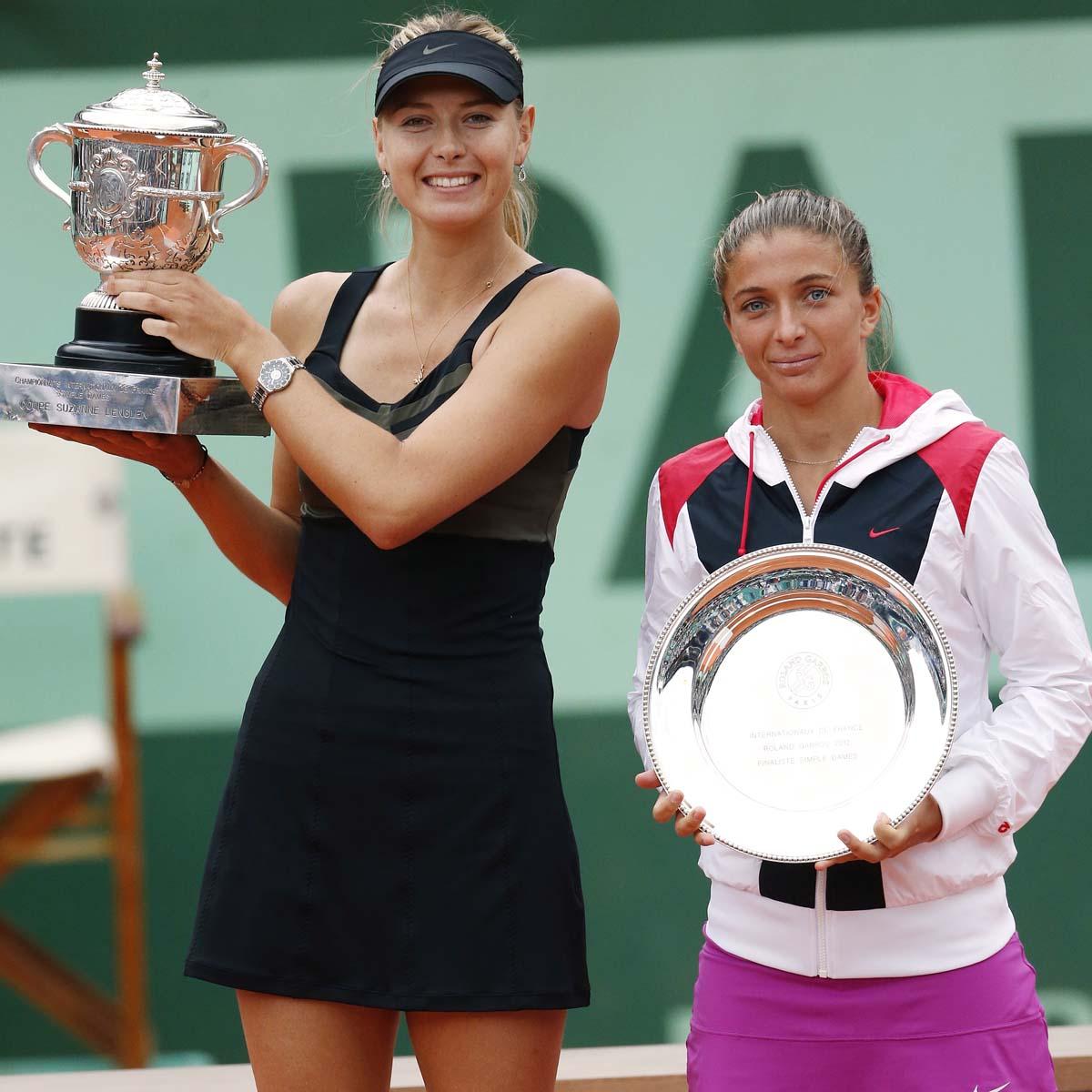 La Cote des Montres : Photo - TAG Heuer / Maria Sharapova n°1 mondial remporte Roland Garros