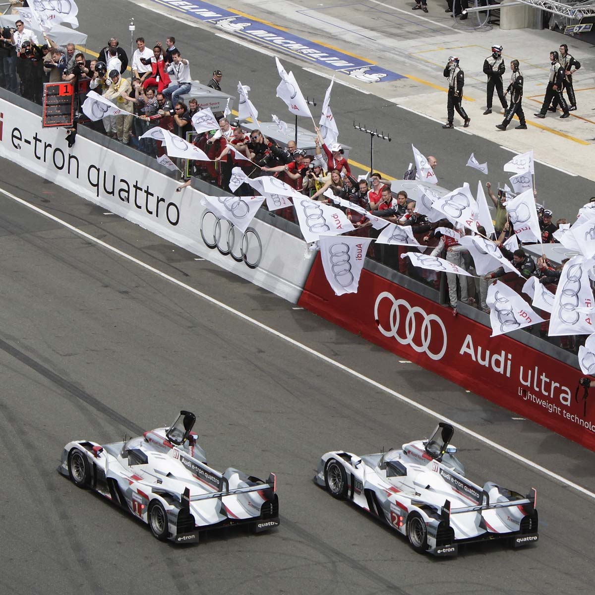 The Watch Quote: Photo - Another victory for Audi Sport