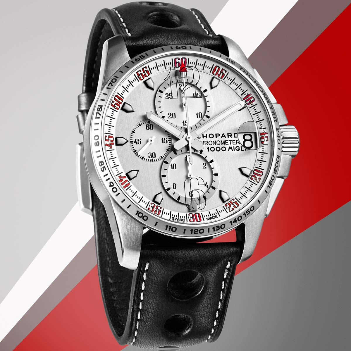 La Cote des Montres : Photo - Chopard Mille Miglia GT XL Chrono Speed Silver