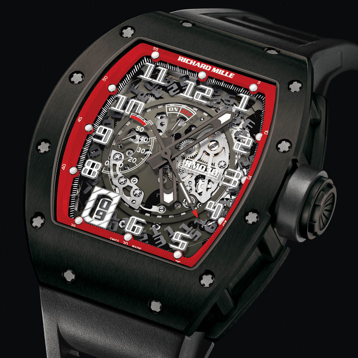 The Watch Quote: Photo - Richard Mille RM 030 Black Night