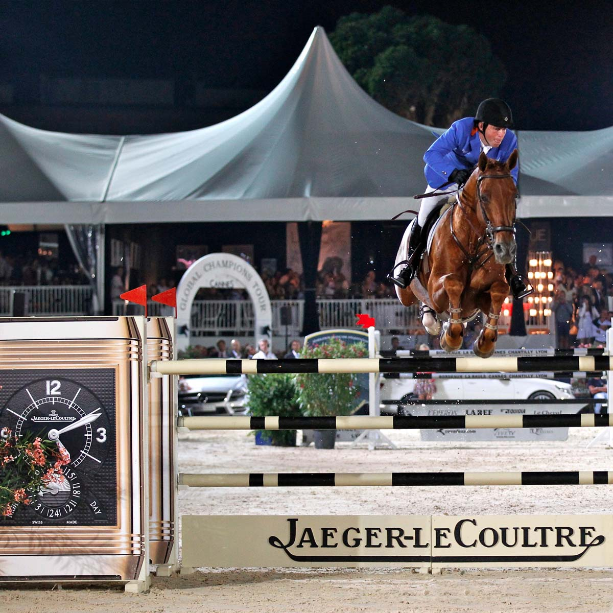 The Watch Quote: Photo - Gerco Schröder, winner of the Jumping de Cannes