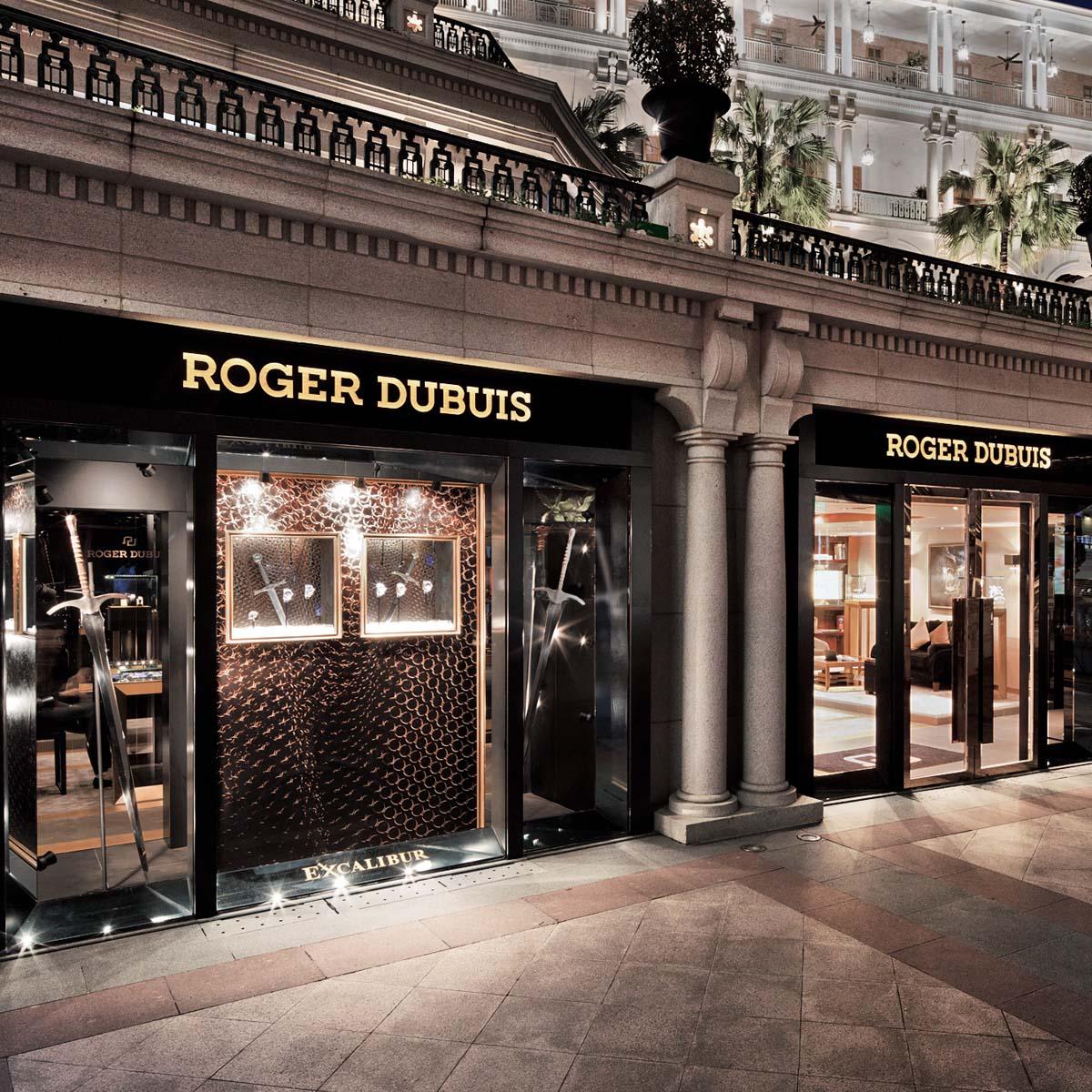 La Cote des Montres : Photo - Nouvelles boutiques Roger Dubuis