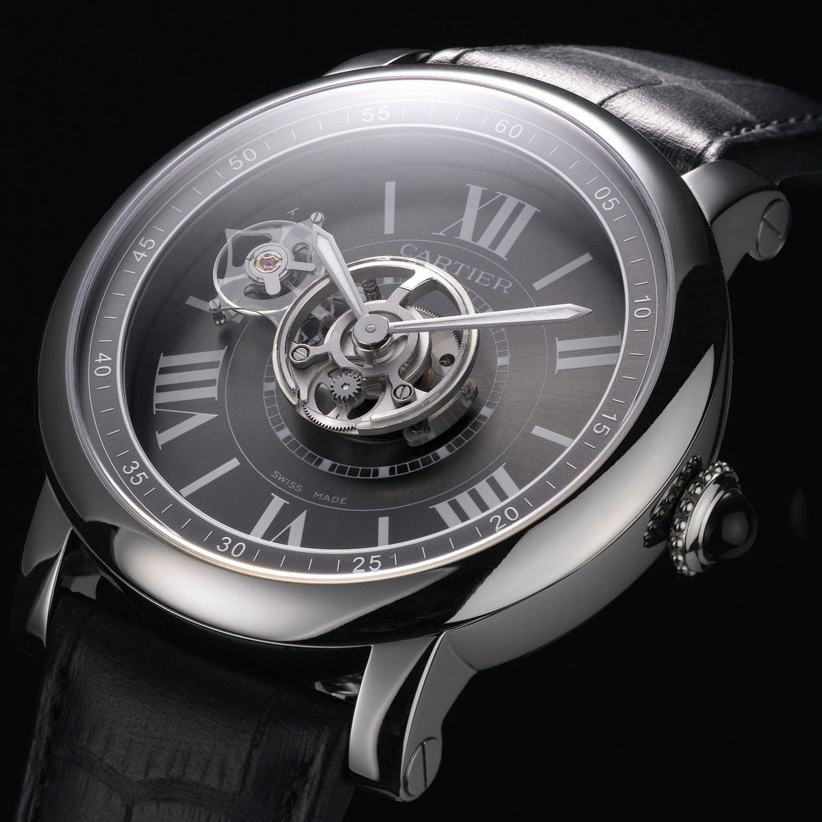 The Watch Quote: Photo - Cartier Astrotourbillon Carbon Crystal