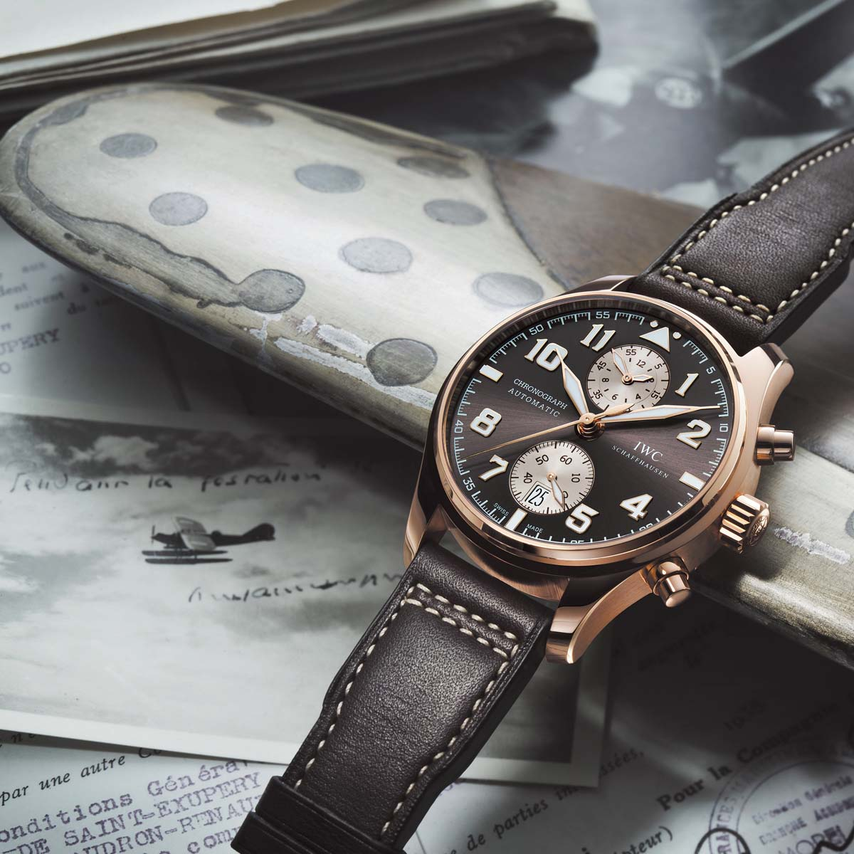 The Watch Quote: Photo - IWC Pilot's Watch Chronograph Edition Antoine de Saint Exupéry
