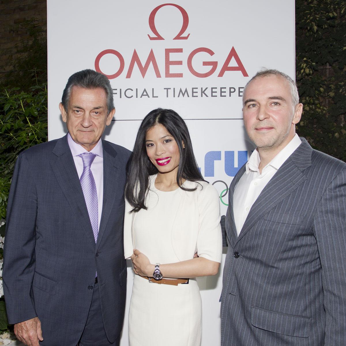 La Cote des Montres : Photo - Omega présente sa nouvelle ambassadrice Vanessa-Mae
