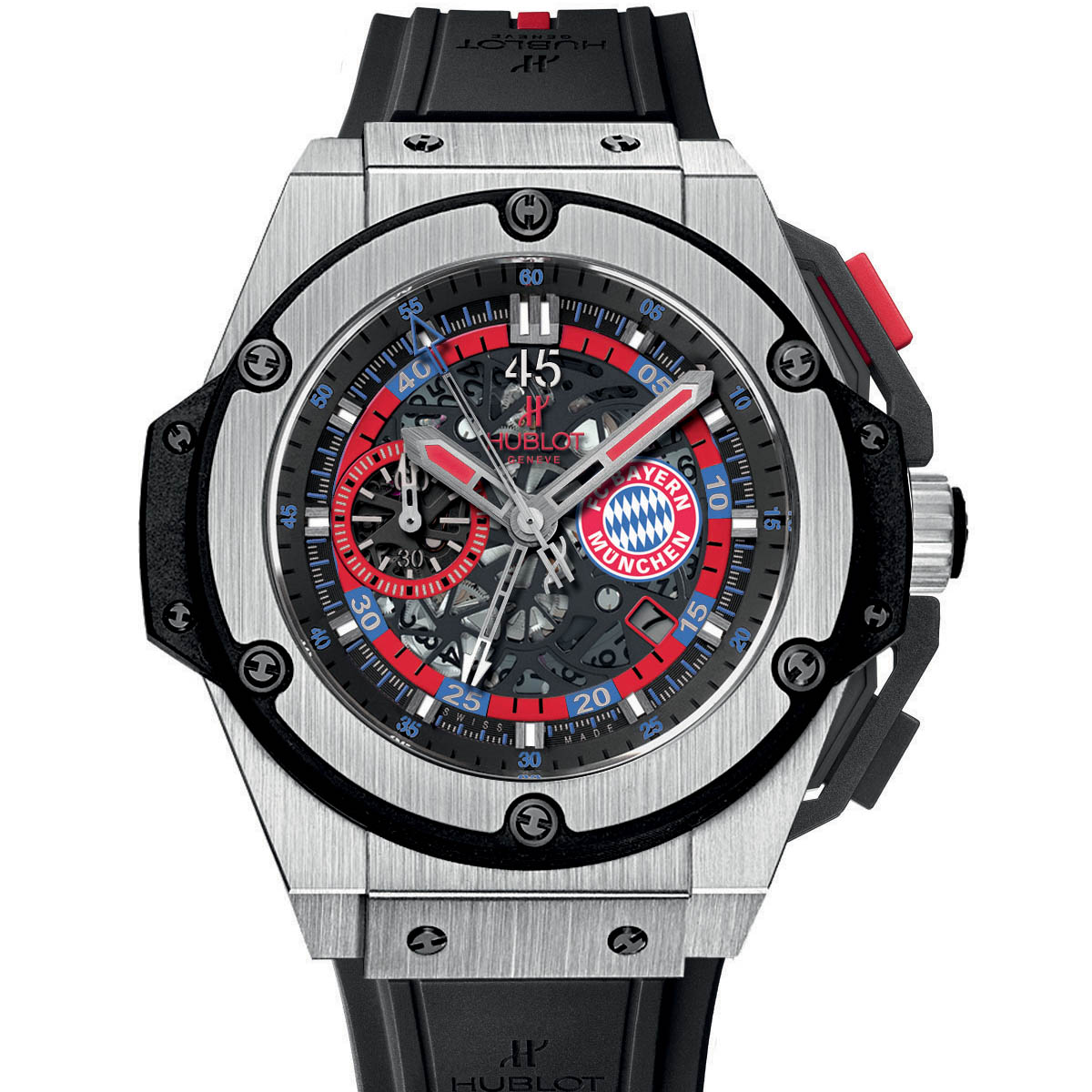 The Watch Quote: Photo - Hublot unveils the King Power FC Bayern Munich