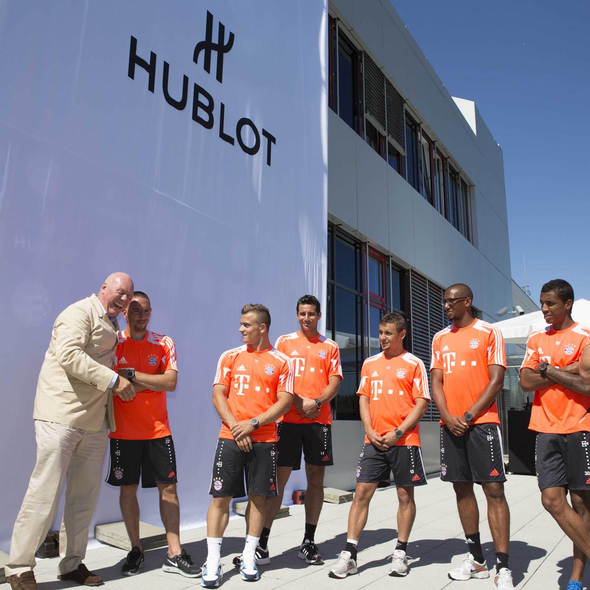 La Cote des Montres : Photo - Hublot dévoile la King Power Bayern Munich