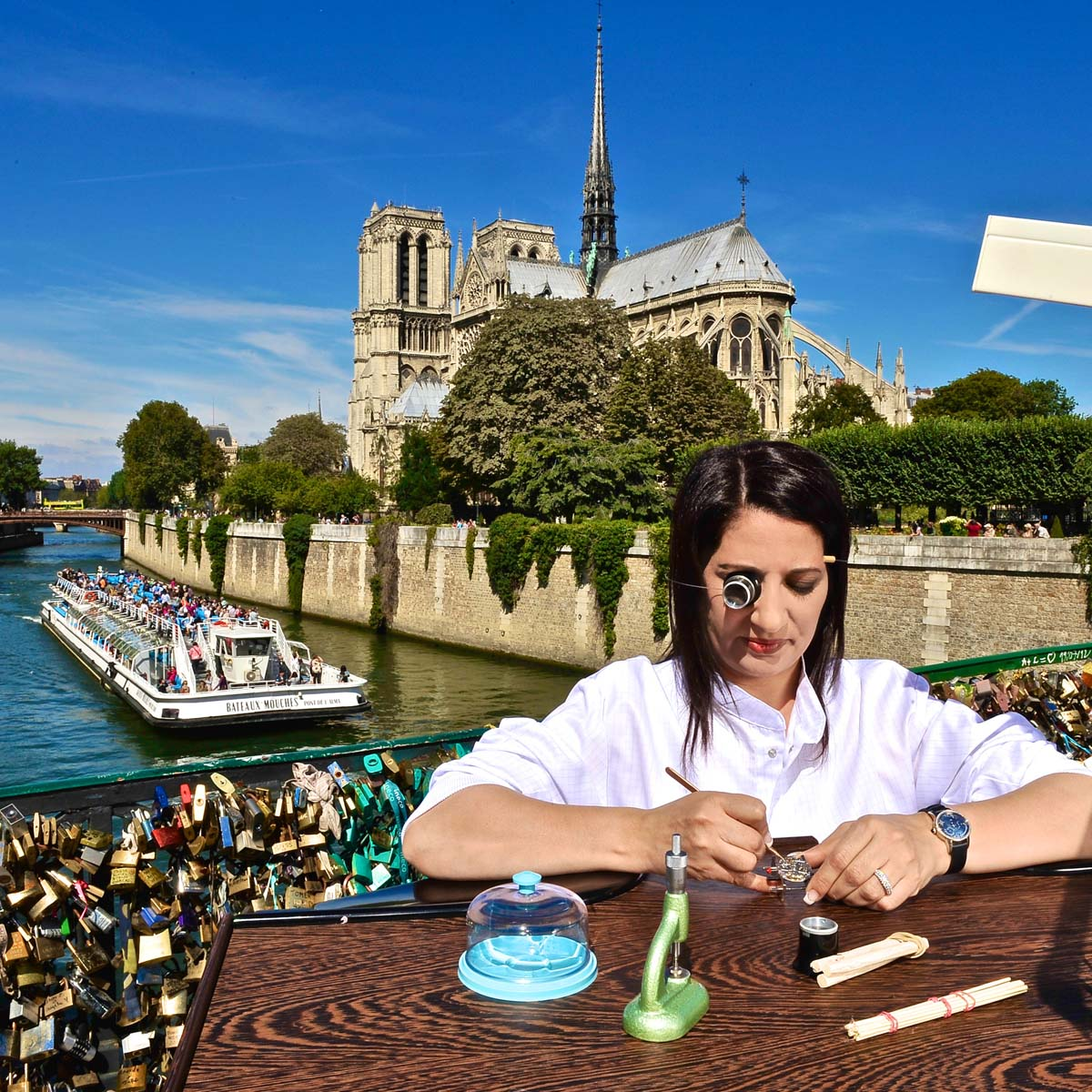 La Cote des Montres : Photo - Girard-Perregaux et Paris - Le nouveau visage de la Tradition