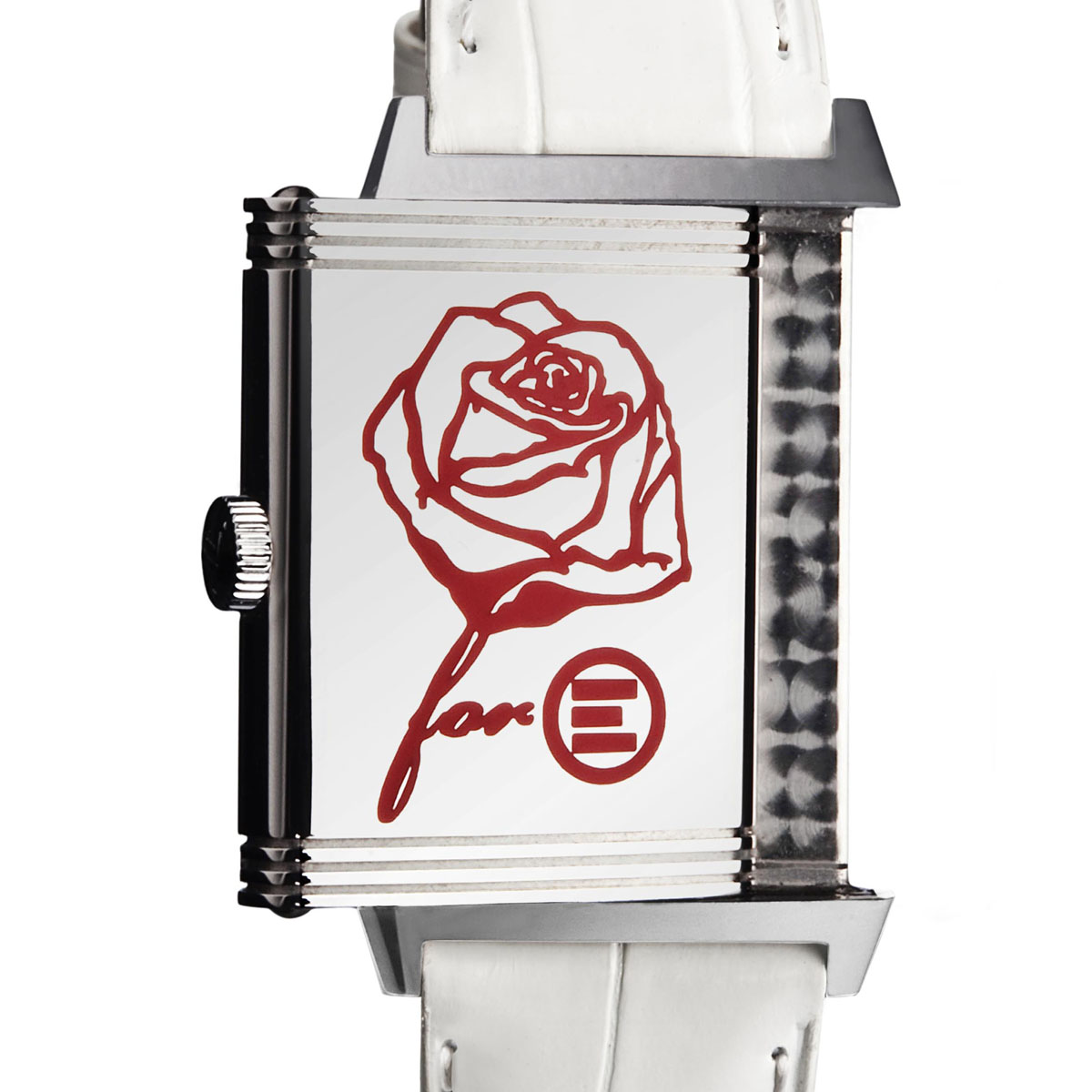 The Watch Quote: Photo - Jaeger-LeCoultre: A Rose for Emergency