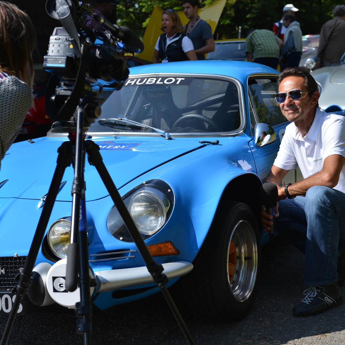 The Watch Quote: Photo - Hublot, Legendary cars in Switzerland