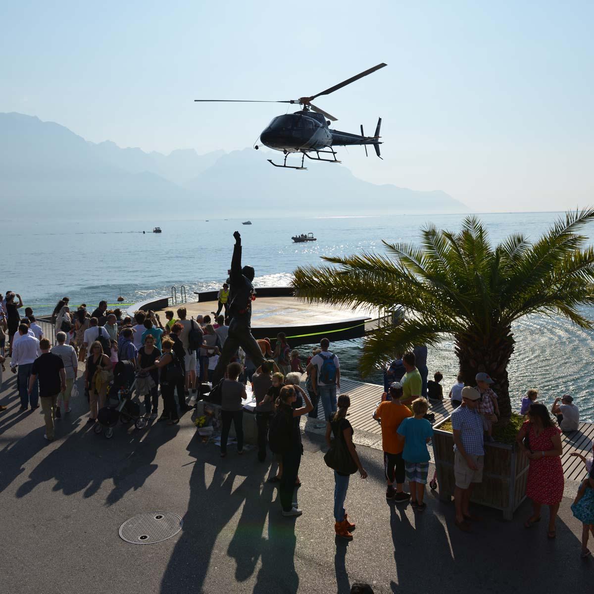 La Cote des Montres : Photo - Hublot, Voitures de légendes à Montreux en Suisse