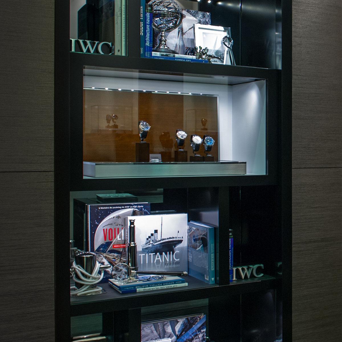 La Cote des Montres : Photo - Une nouvelle boutique IWC au cœur de la capitale du luxe