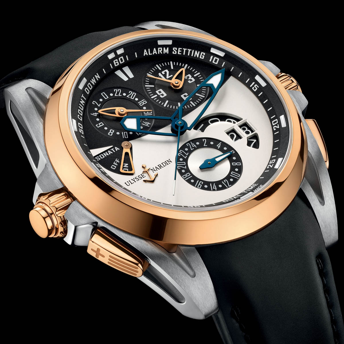The Watch Quote: Photo - Ulysse Nardin Sonata Streamline
