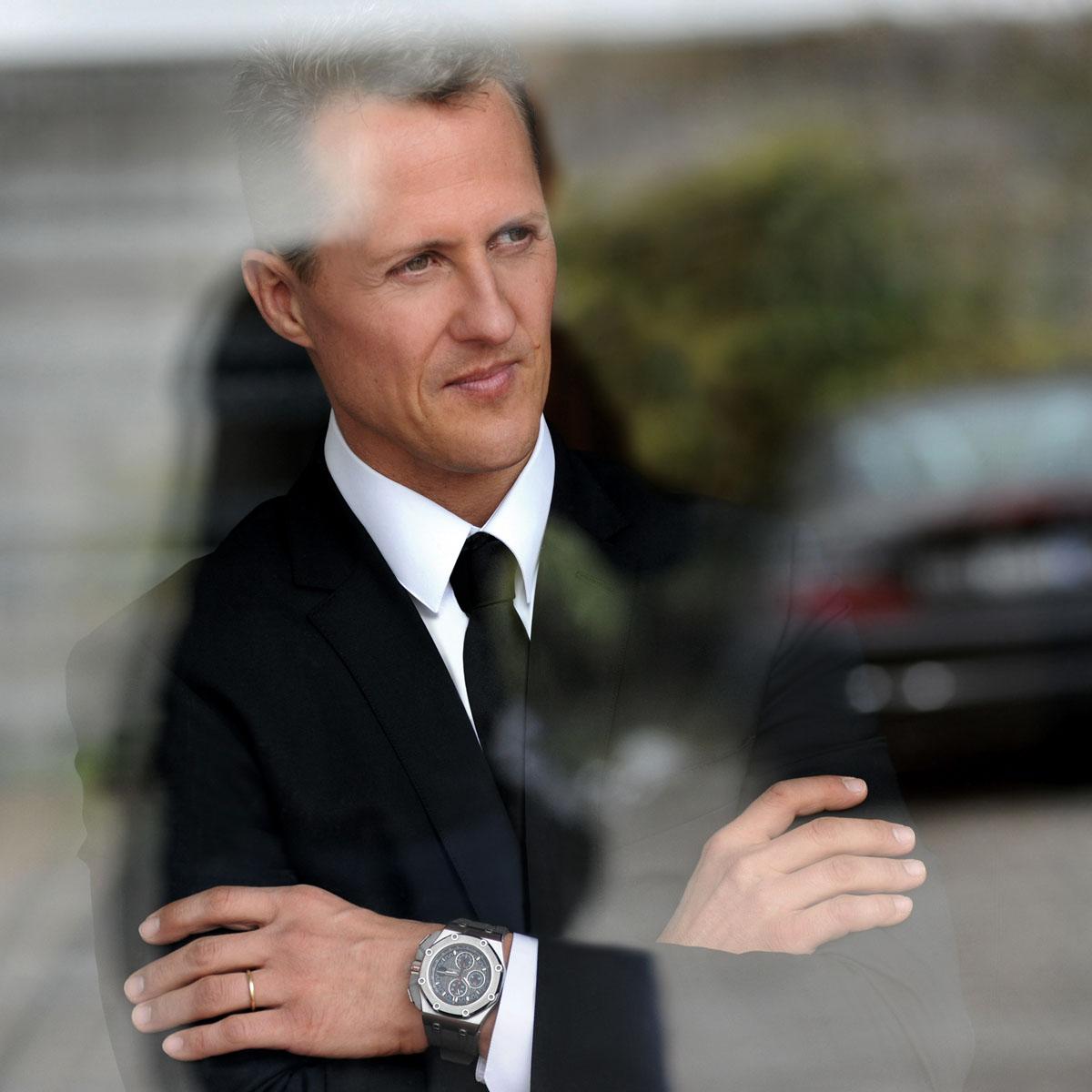 La Cote des Montres : Photo - Audemars Piguet Royal Oak Offshore Michael Schumacher Edition Limitée