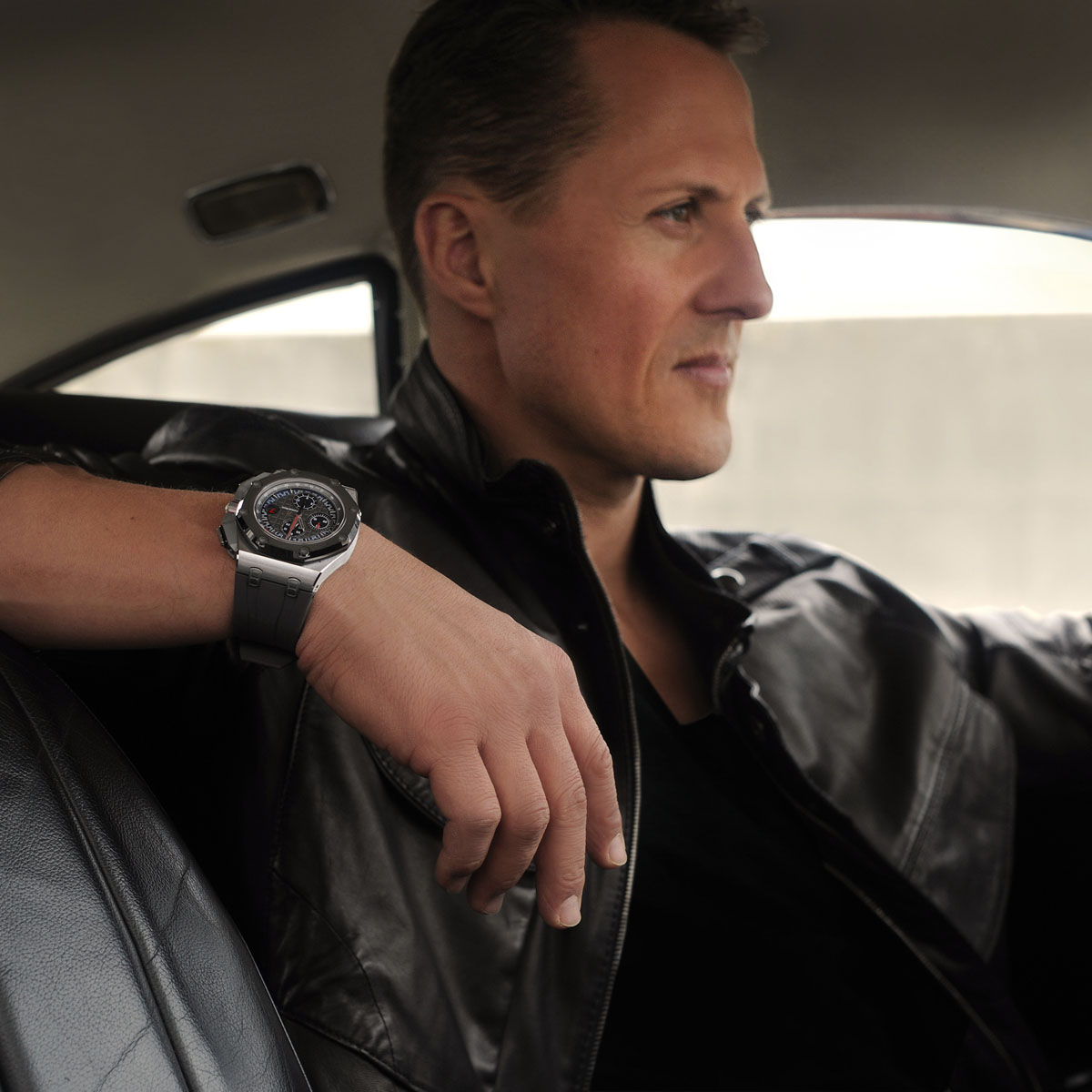 La Cote des Montres : Photo - Audemars Piguet Royal Oak Offshore Michael Schumacher Edition Limitée