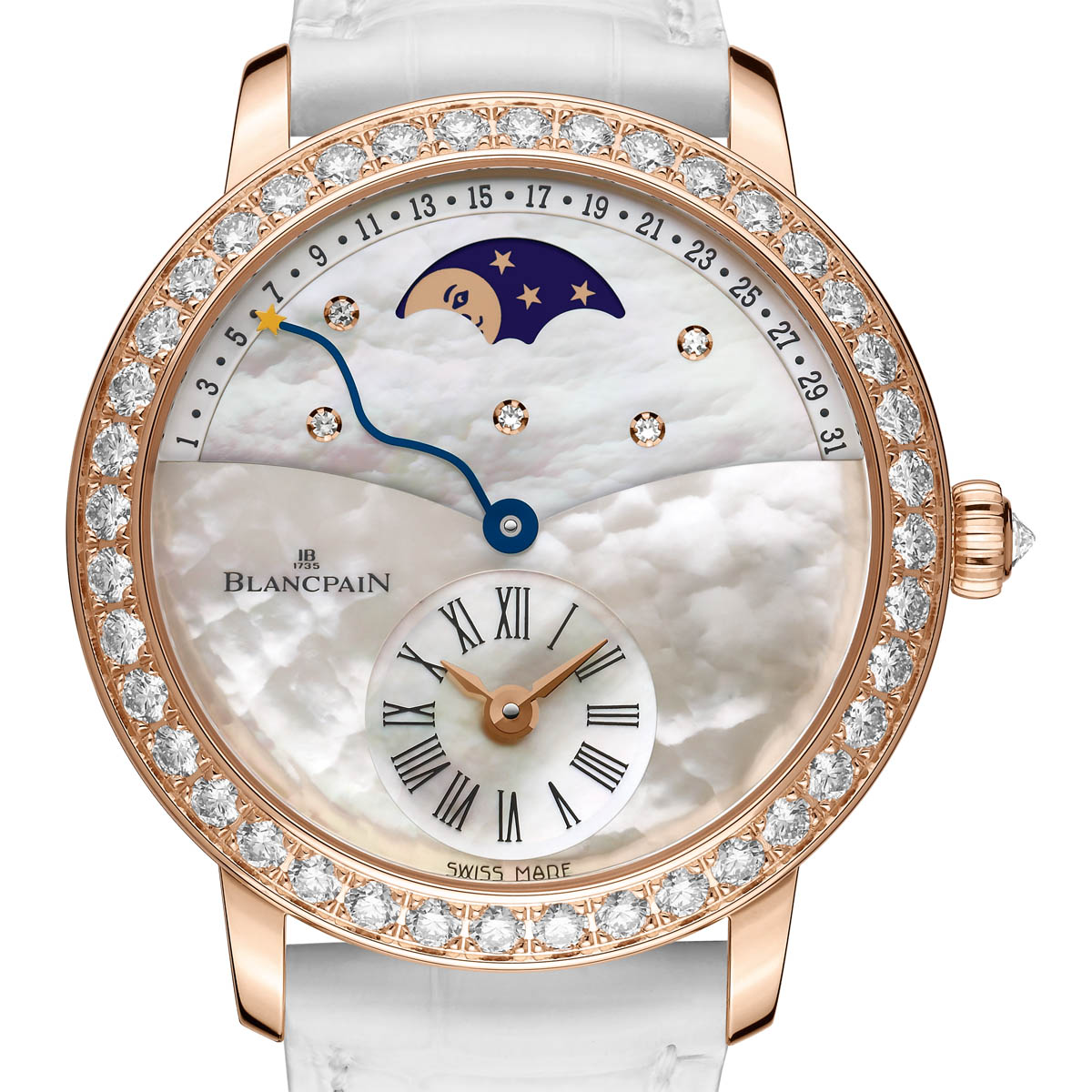 The Watch Quote: Photo - Blancpain Women Off-centred Hour Retrograde Calendar