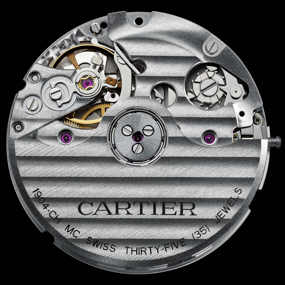 The Watch Quote: Photo - Cartier Calibre Chronograph 1904-CH MC Movement