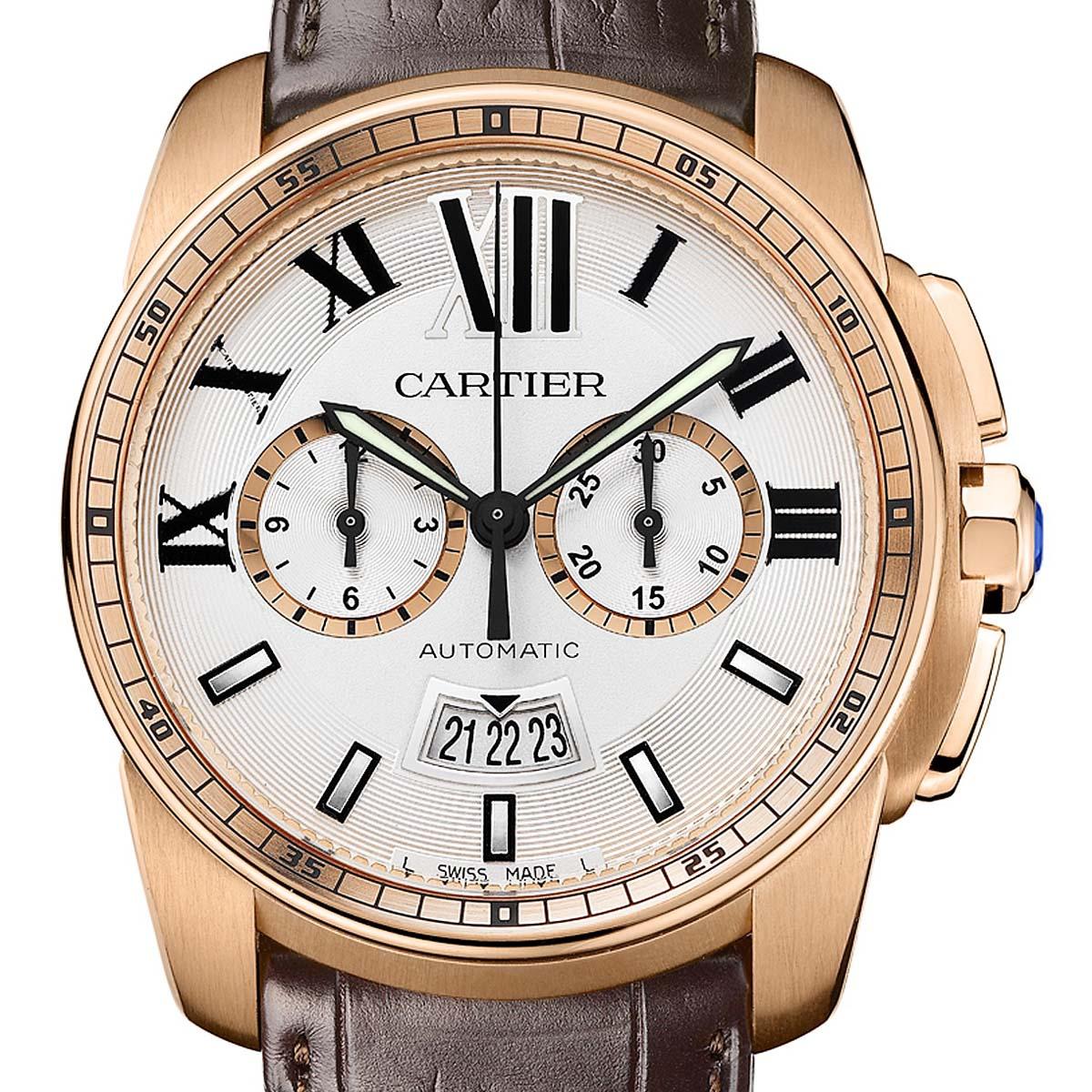 The Watch Quote: Photo - Cartier Calibre Chronograph 1904-CH MC Movement