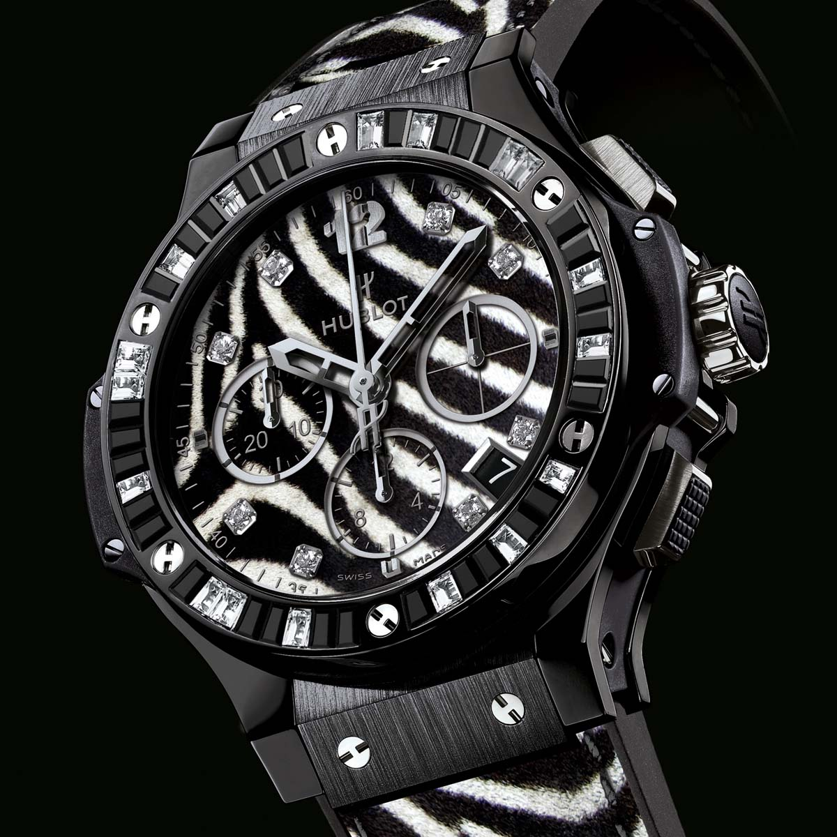La Cote des Montres : Photo - Hublot Big Bang « Zebra Bang »