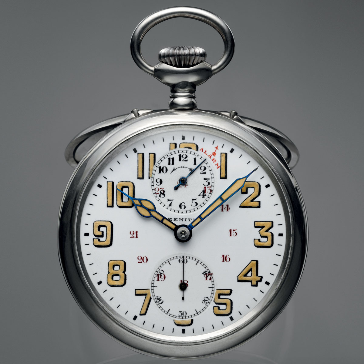 The Watch Quote: Photo - Gandhi's alarm pocket-watch