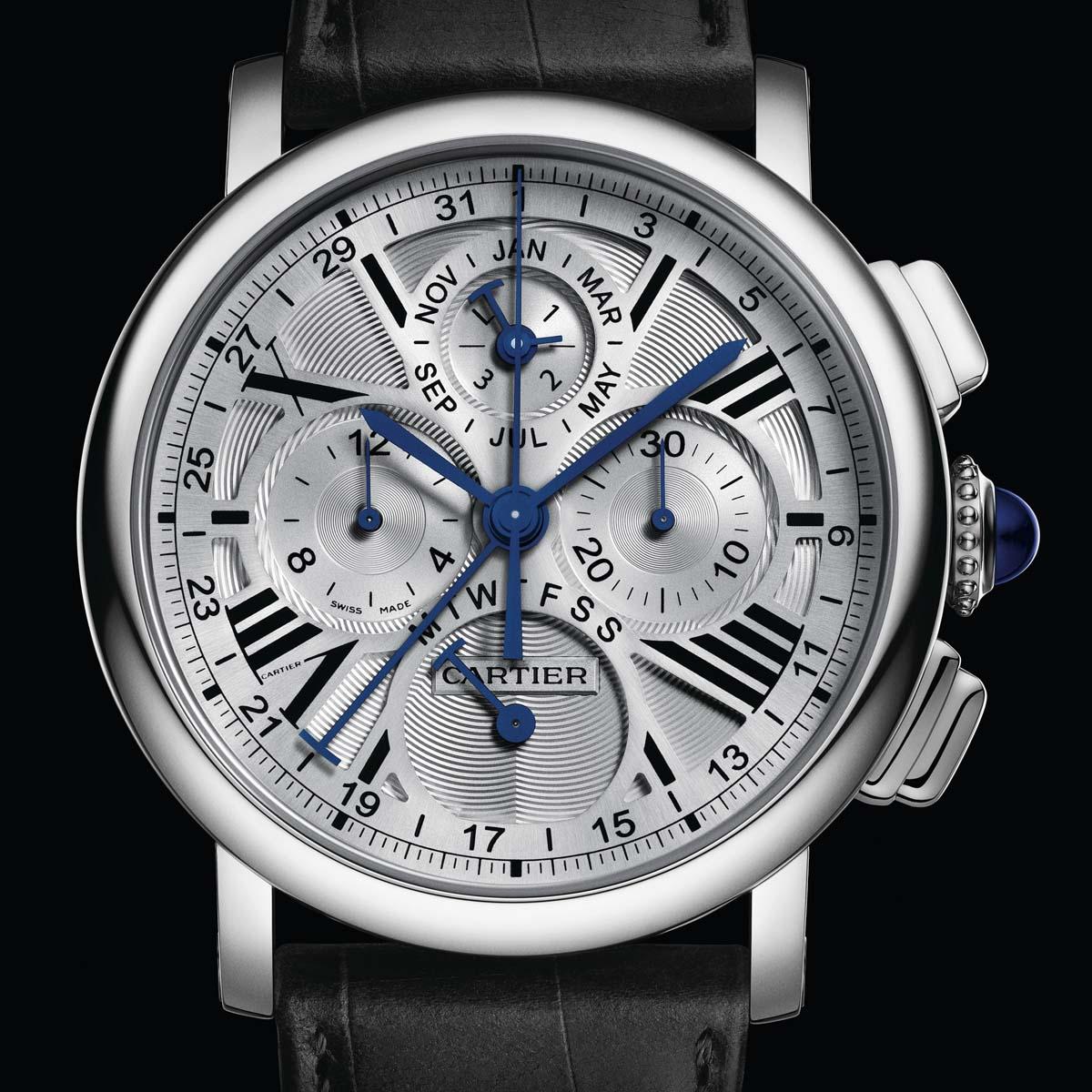 The Watch Quote: Photo - Rotonde de Cartier perpetual calendar chronograph