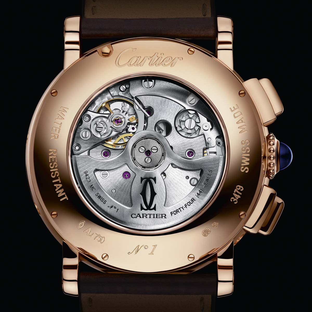 The Watch Quote: Photo - Rotonde de Cartier perpetual calendar chronograph