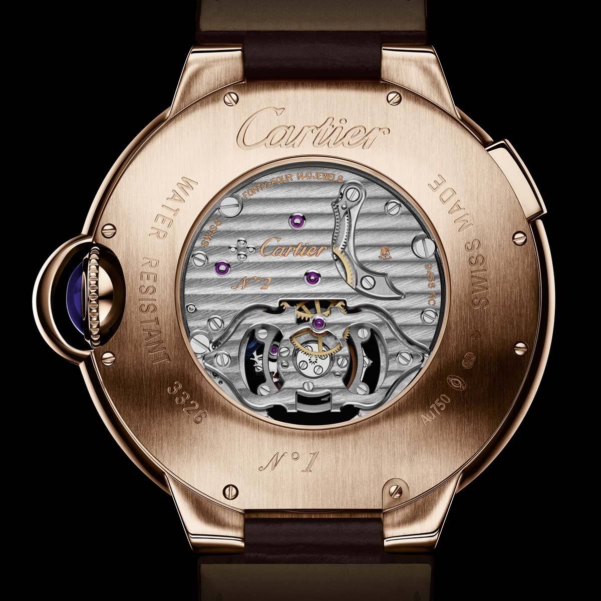 The Watch Quote: Photo - Ballon Bleu de Cartier tourbillon