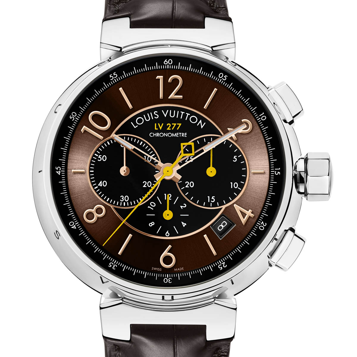 The Watch Quote  The Louis Vuitton Tambour LV277 Automatic ... 8b830f7e97b