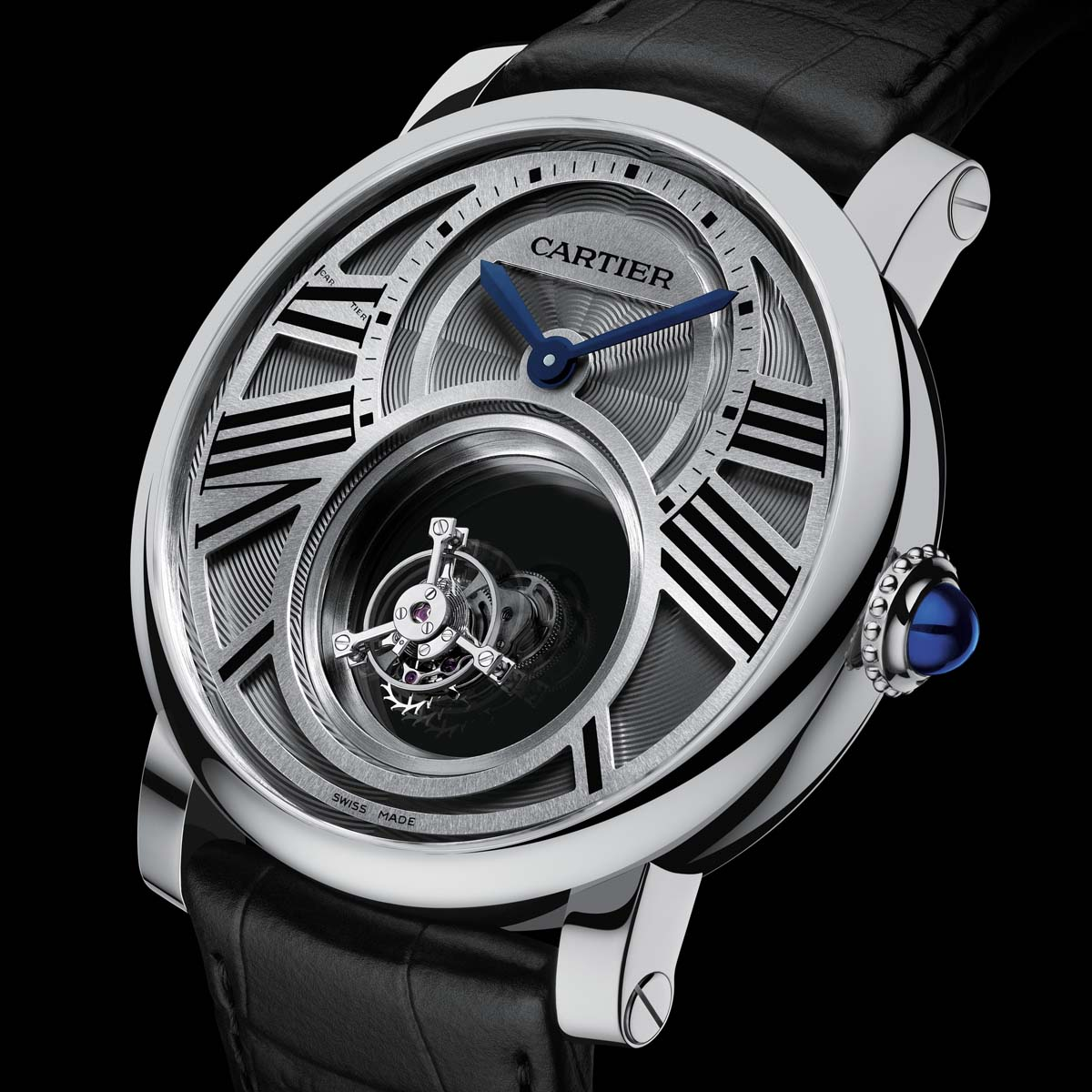 The Watch Quote: Photo - Cartier Rotonde mysterious double Tourbillon