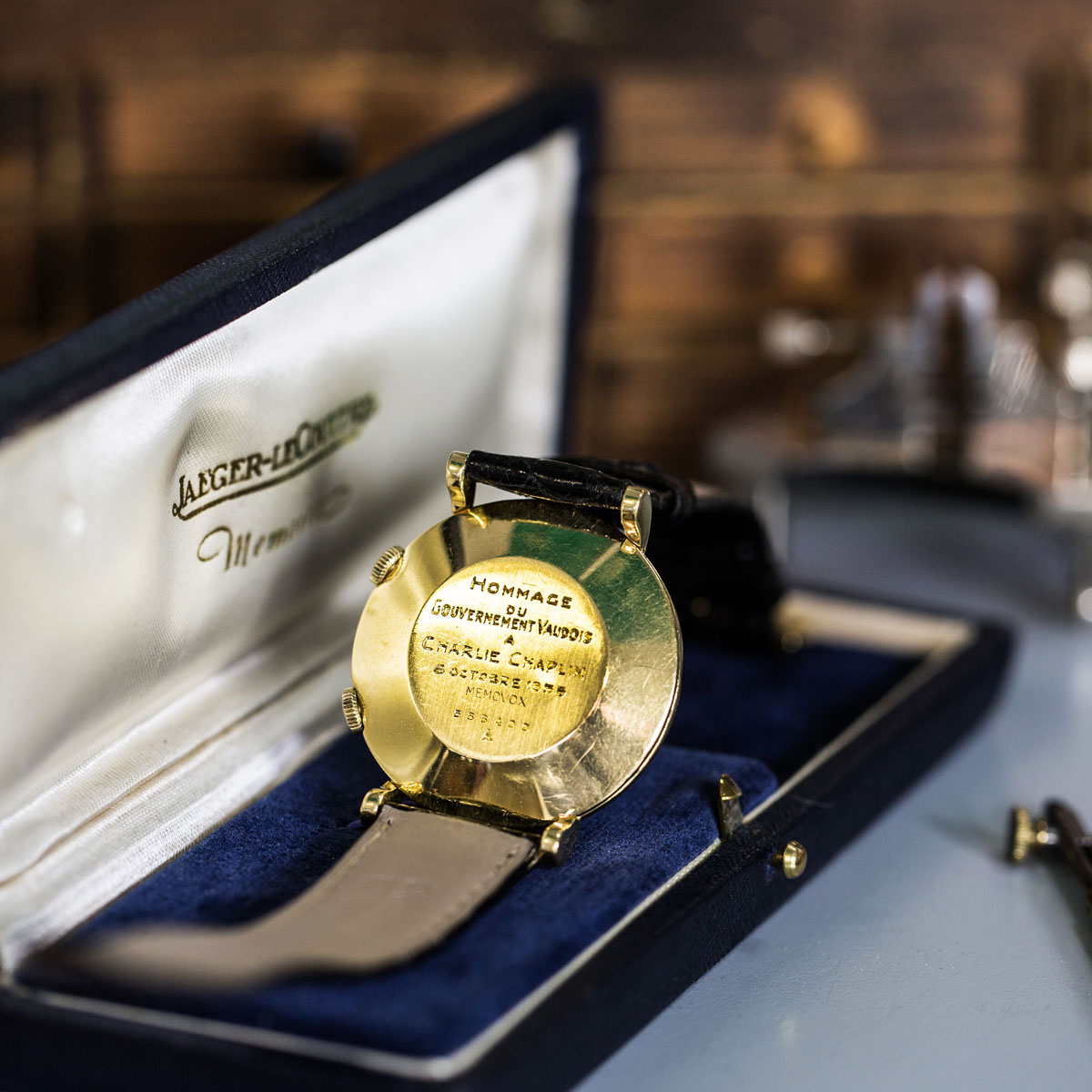 The Watch Quote: Photo - Memovox by Jaeger-LeCoultre