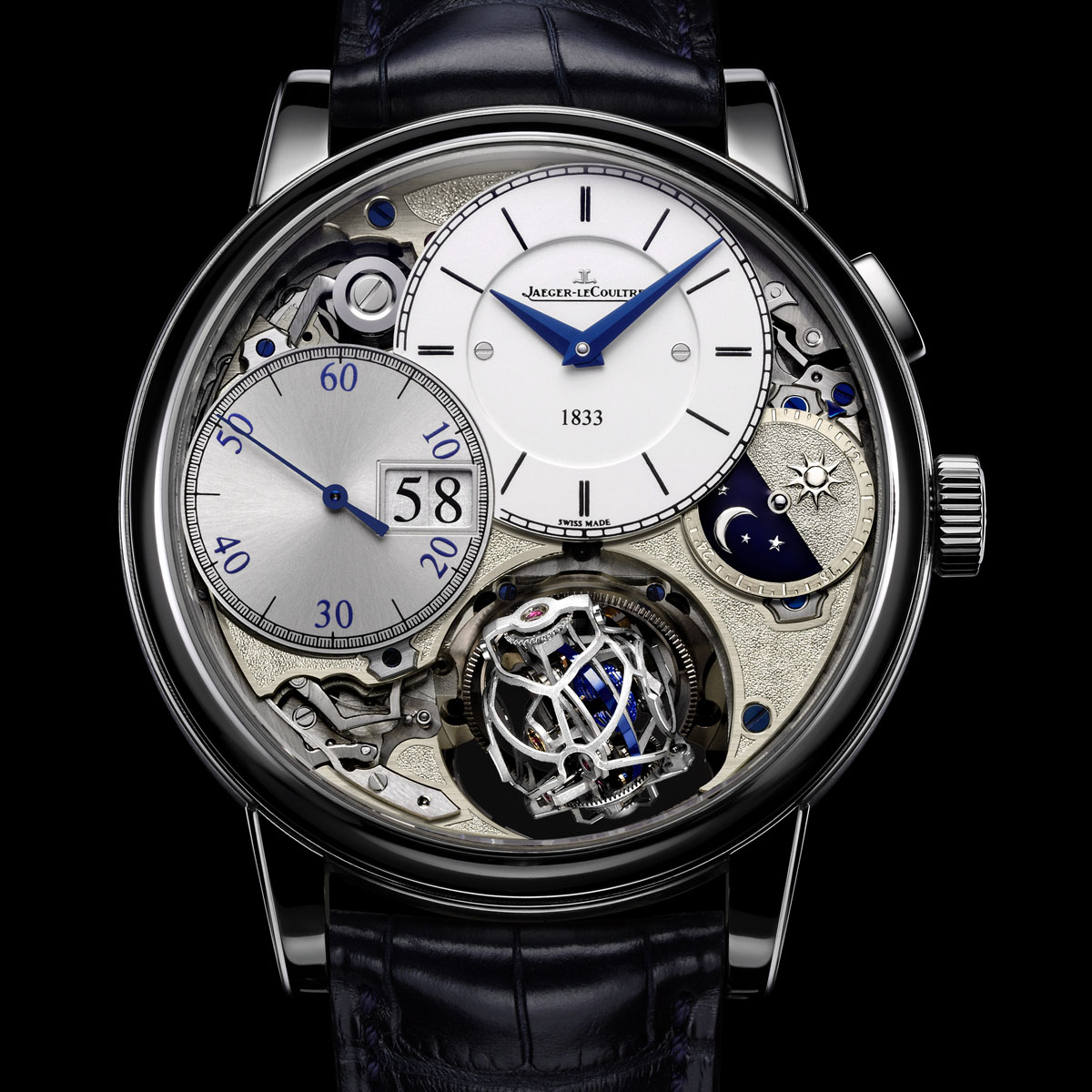 The Watch Quote: Photo - Jaeger-LeCoultre Master Grande Tradition Gyrotourbillon 3 Jubilee