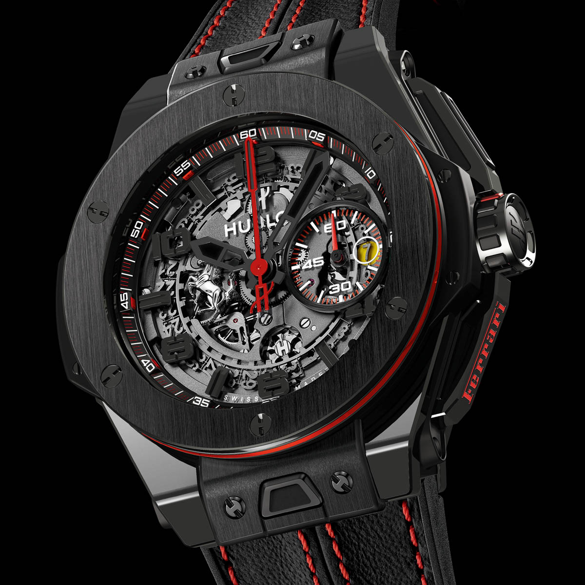 montre hublot big bang ferrari. Black Bedroom Furniture Sets. Home Design Ideas