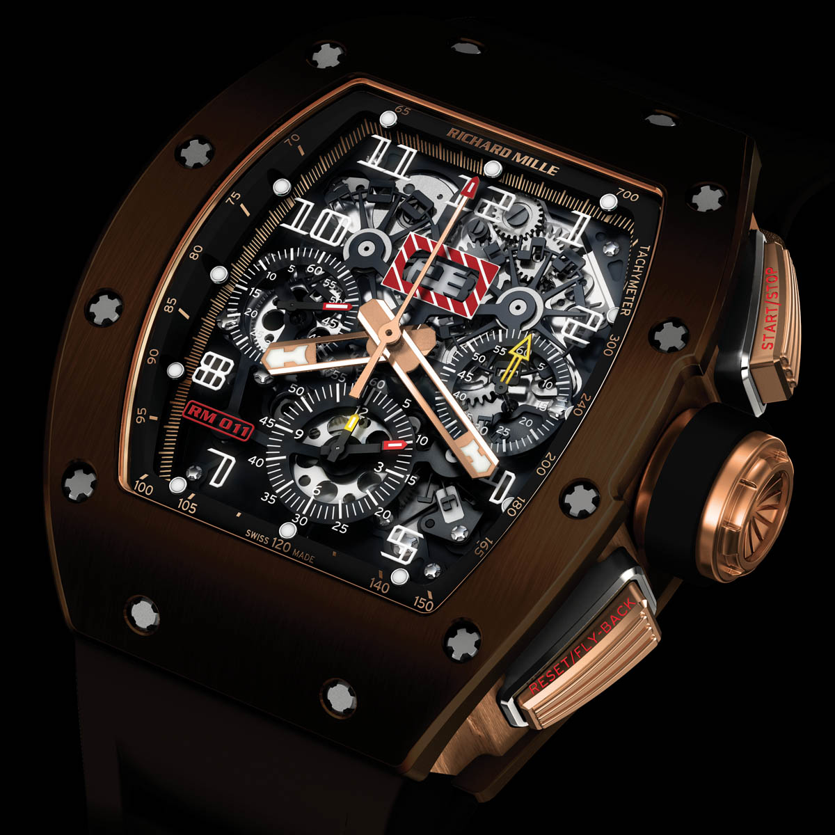 The Watch Quote: Photo - Richard Mille RM 011 Brown Silicon Nitride