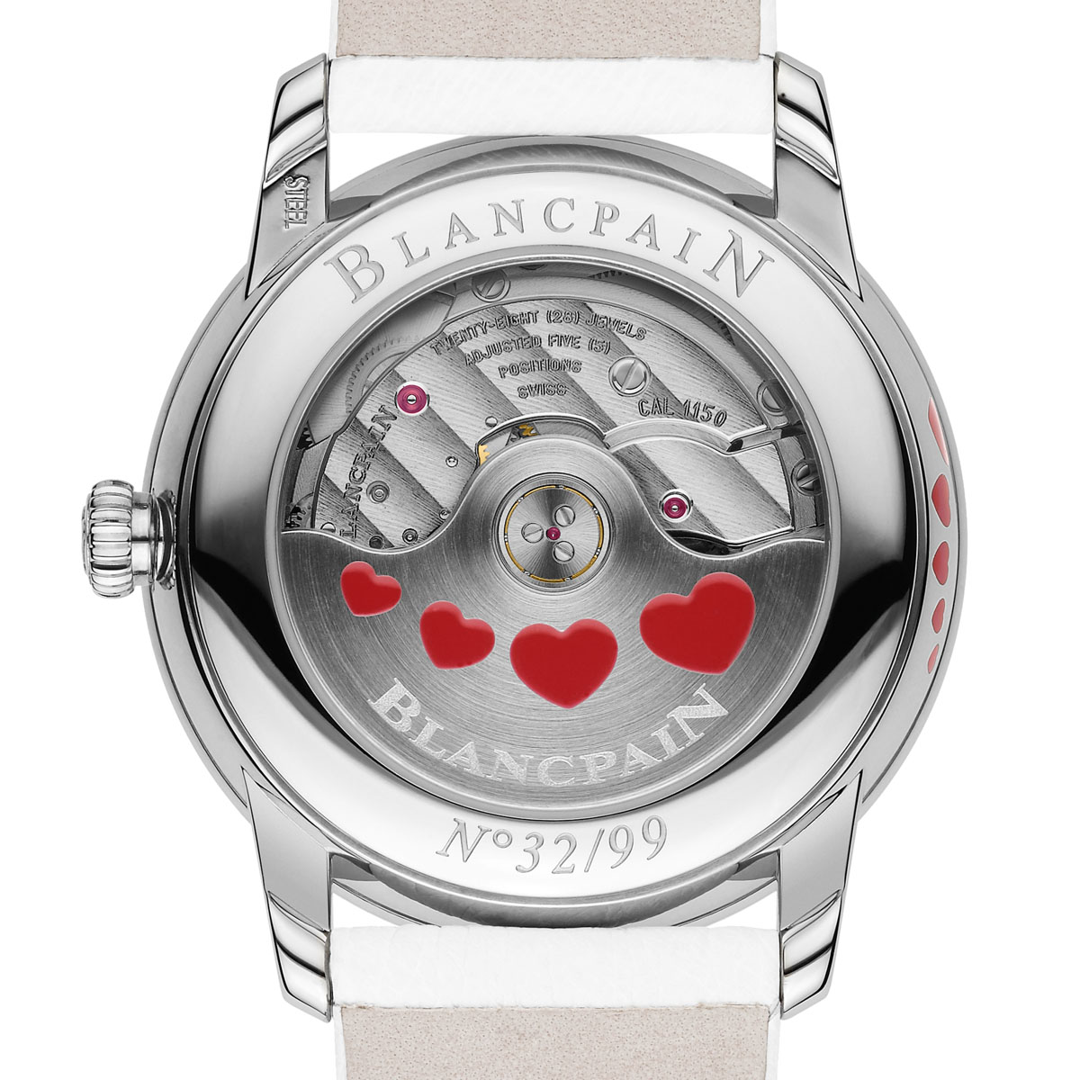 The Watch Quote: Photo - Blancpain Women Ultraplate Valentine's Day 2013