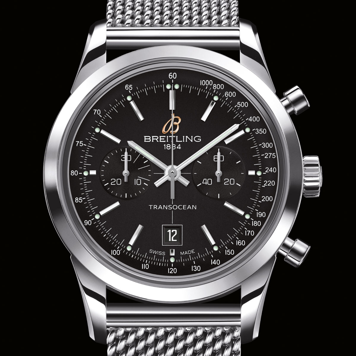 The Watch Quote: Photo - Breitling Transocean Chronograph 38