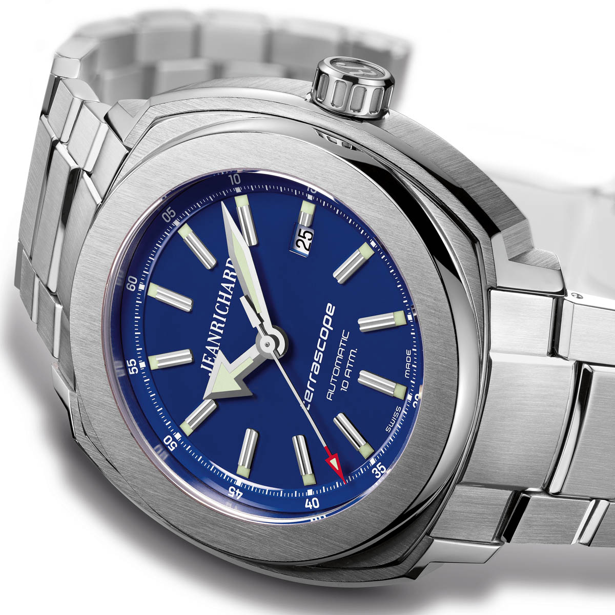 The Watch Quote: Photo - JeanRichard Terrascope Blue lacquered dial