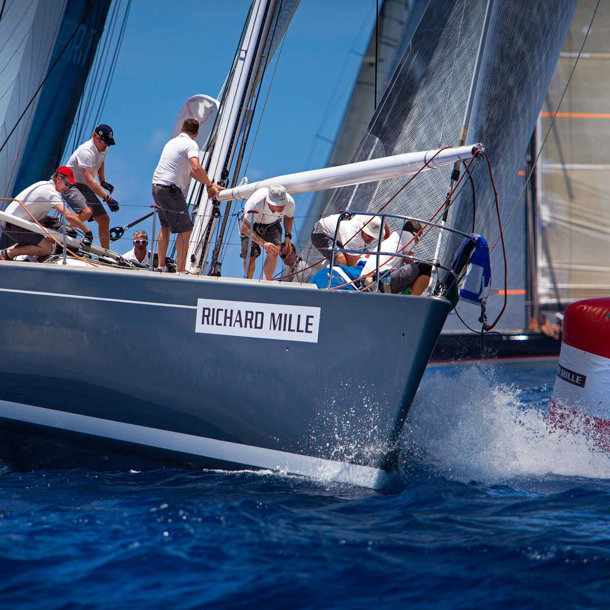 The Watch Quote: Photo - Richard Mille, principal partner of the Voiles de Saint Barth competition