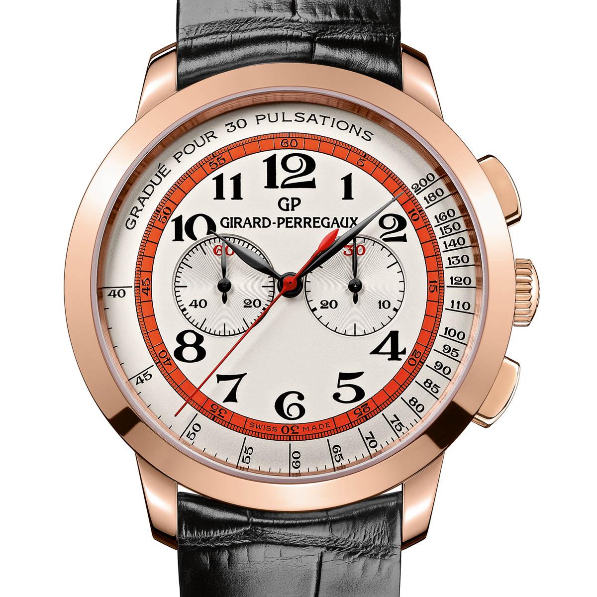 La Cote des Montres : Photo - Girard-Perregaux 1966 Chronographe «Doctor's Watch»