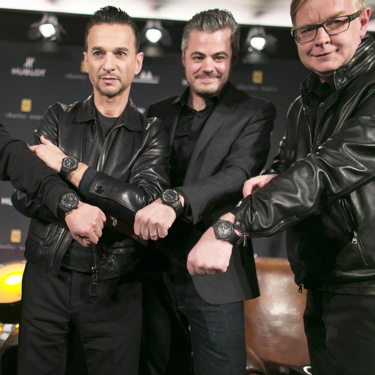 La Cote des Montres : Photo - Hublot Big Bang Depeche Mode