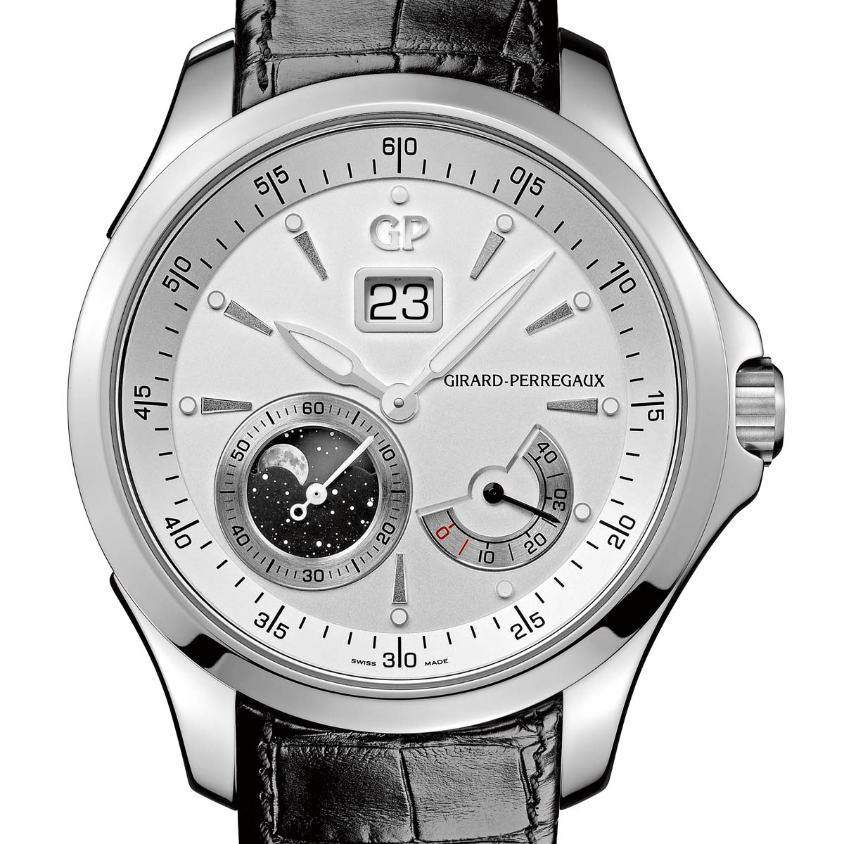 The Watch Quote: Photo - Girard-Perregaux Traveller Collection