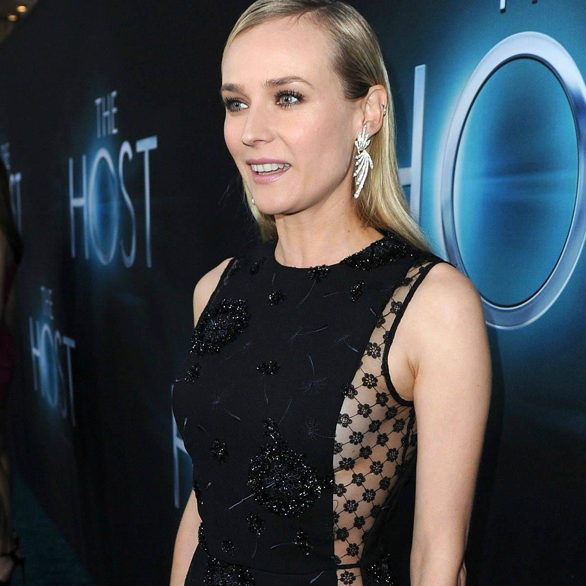"""La Cote des Montres : Photo - Diane Kruger à la première du film """"The Host�"""