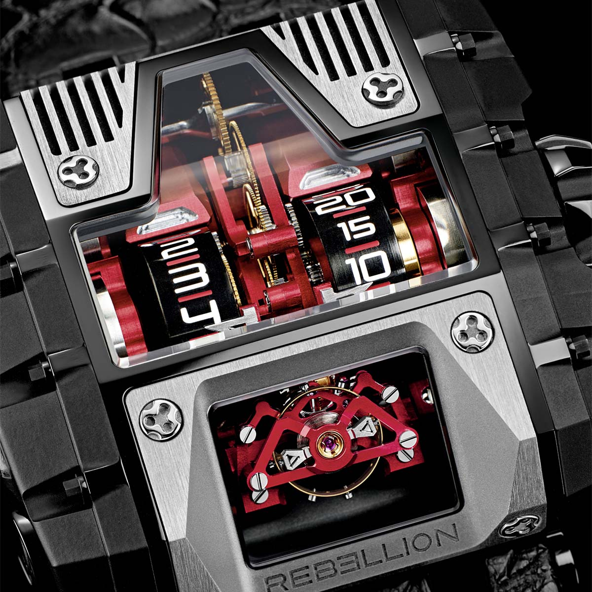 The Watch Quote: Photo - Rebellion T-1000 Gotham
