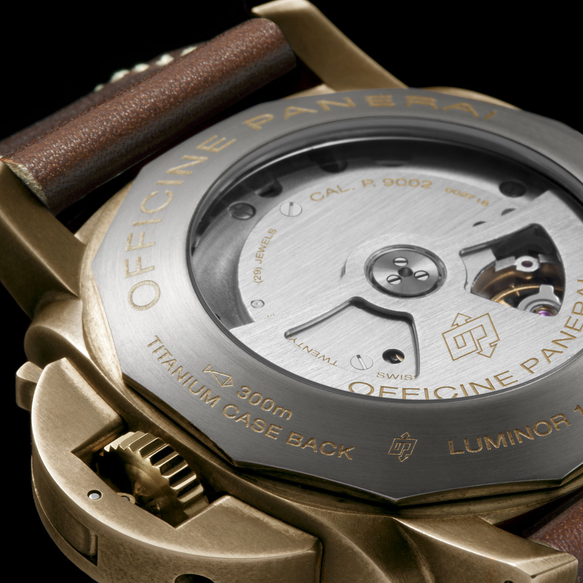 La Cote des Montres : Photo - Panerai Luminor Submersible 1950 3 Days Power Reserve Automatic Bronzo - 47mm