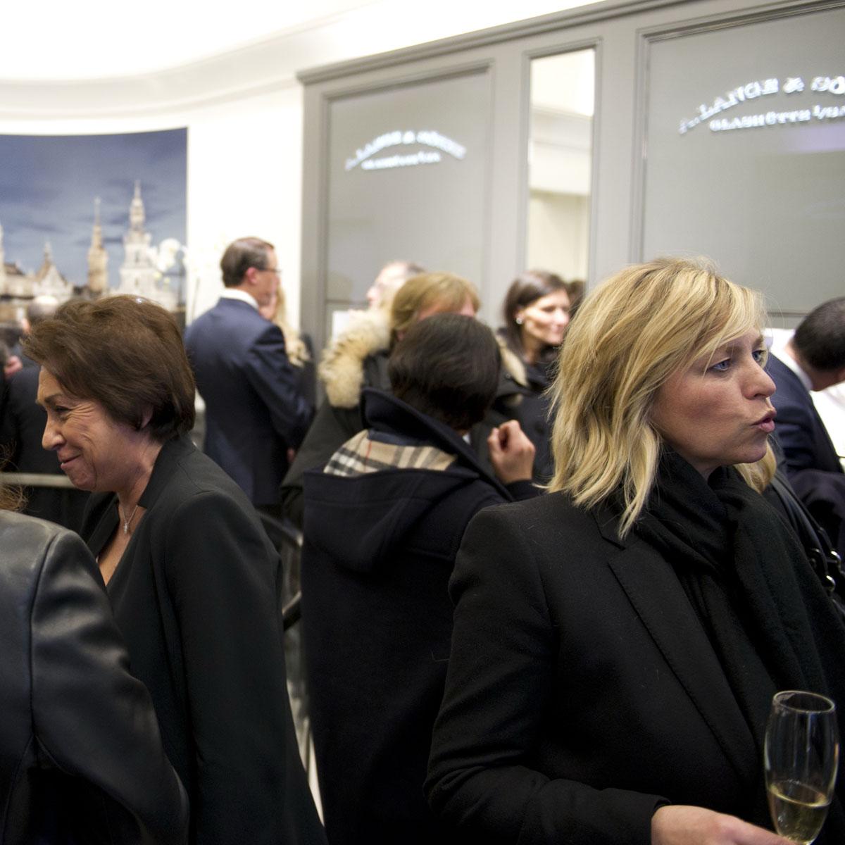 La Cote des Montres : Photo - Inauguration de la première boutique A.Lange