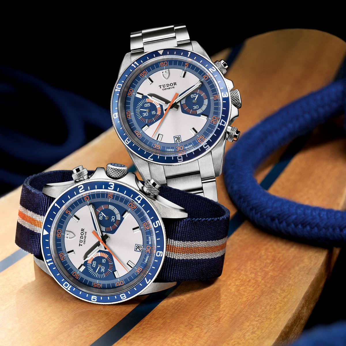 The Watch Quote: Photo - Tudor Heritage Chrono Blue