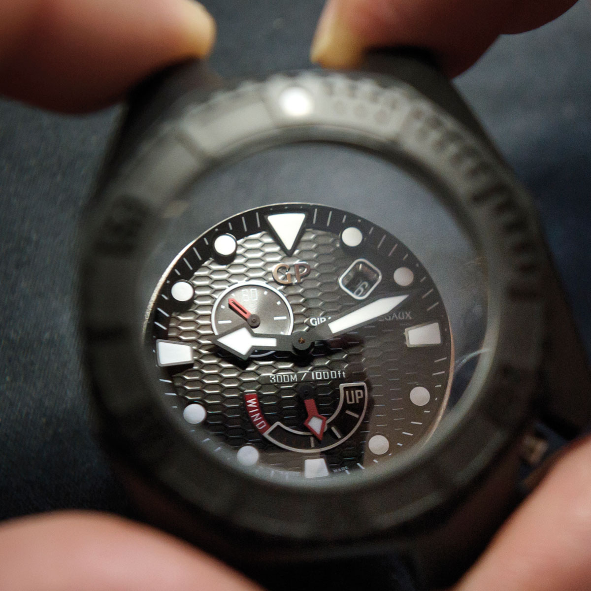 The Watch Quote: Photo - Girard-Perregaux Hawk Ceramic