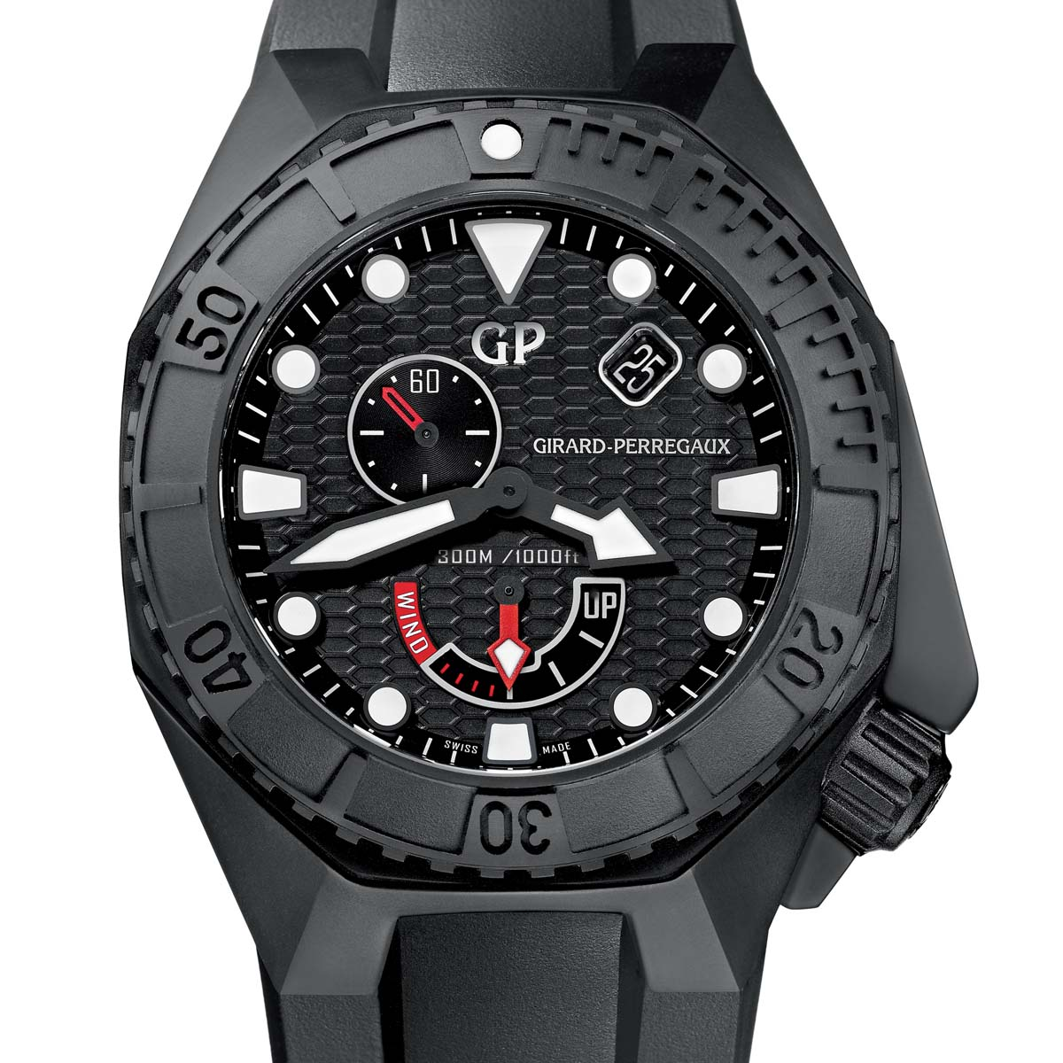 The Watch Quote: Photo - Girard-Perregaux Hawk Ceramic