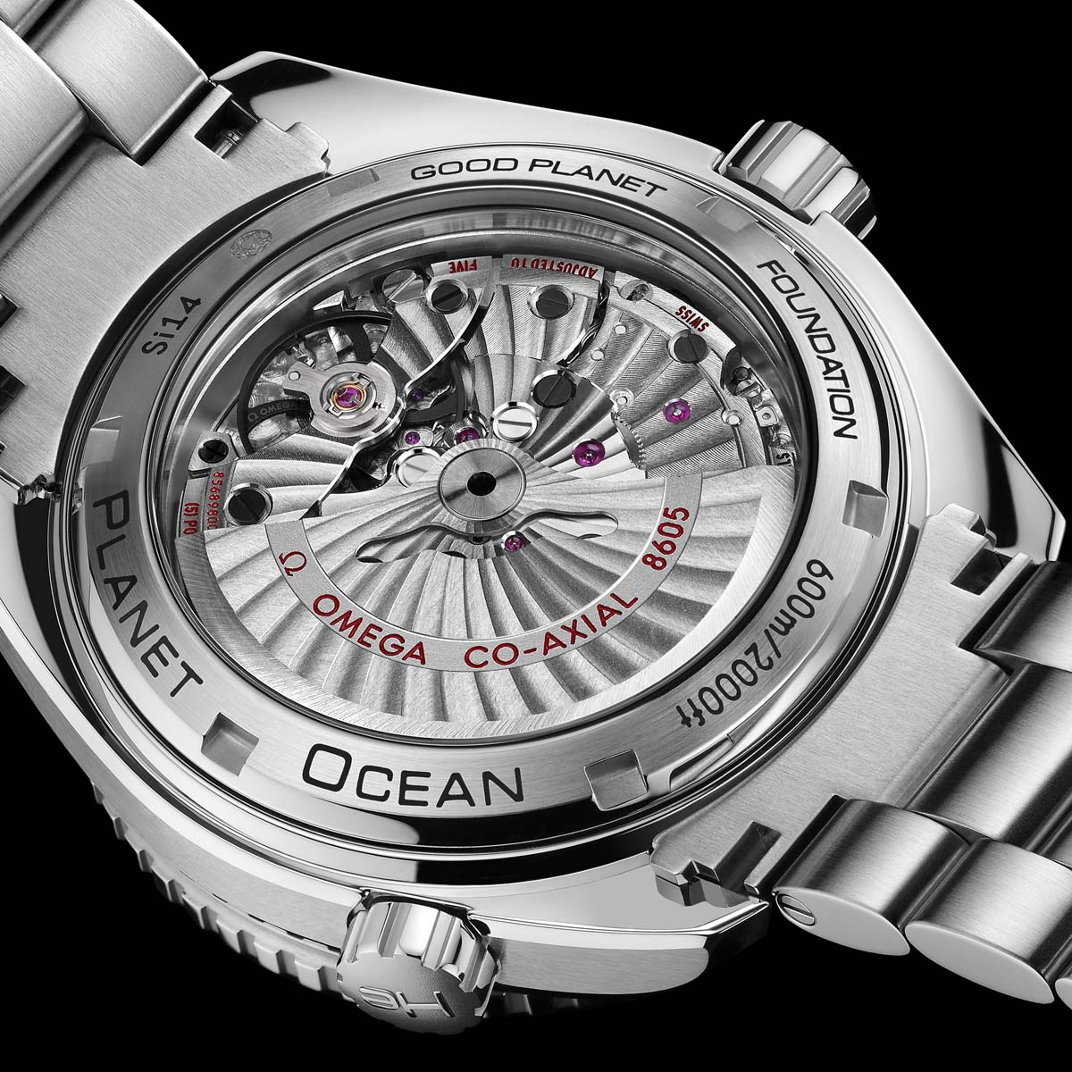 La Cote des Montres : Photo - Omega Seamaster Planet Ocean GMT 600M GoodPlanet